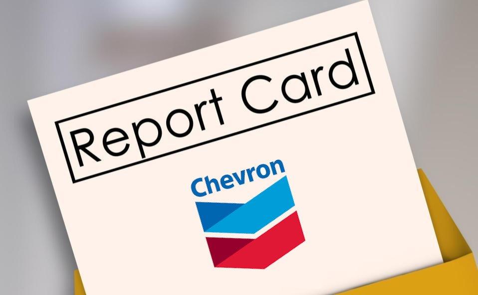 Energy Market Report Card – Chevron Corporation (CVX)