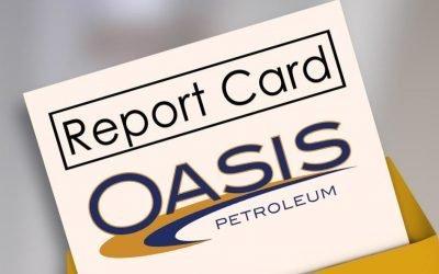 Energy Market Report Card – Oasis Petroleum (OAS)