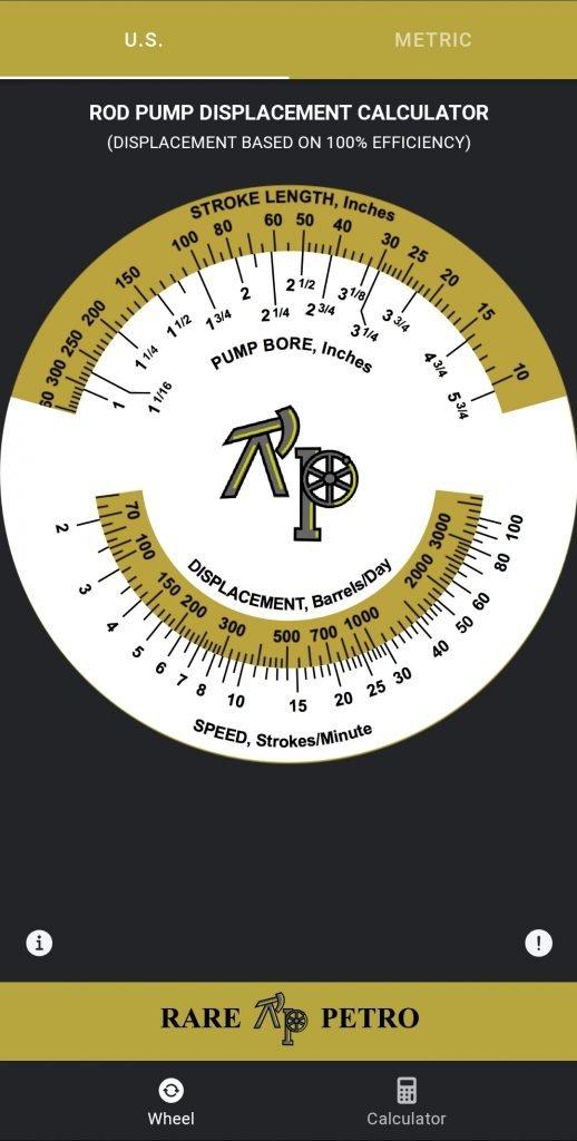 Rod Pump Calculator