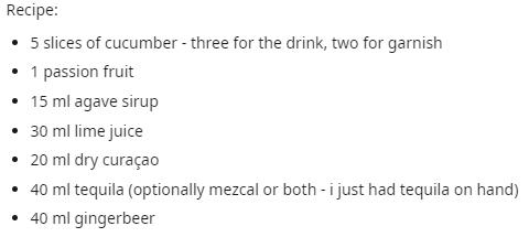 drinky drank recipe